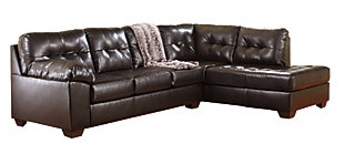 Alliston 2-Piece Sectional, Chocolate, large