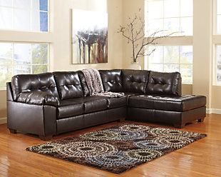 Alliston 2-Piece Sectional, Chocolate, rollover