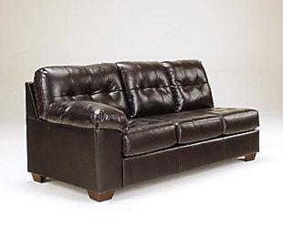 Alliston Left-Arm Facing Sofa, Chocolate, large