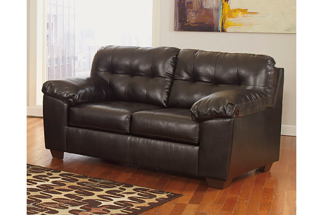 Alliston DuraBlend ® Loveseat by Ashley HomeStore, Brown, Leather/polyester/pvc