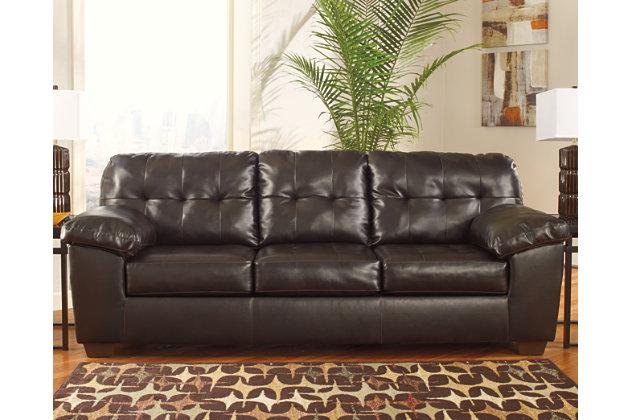 Alliston Sofa, Chocolate, large