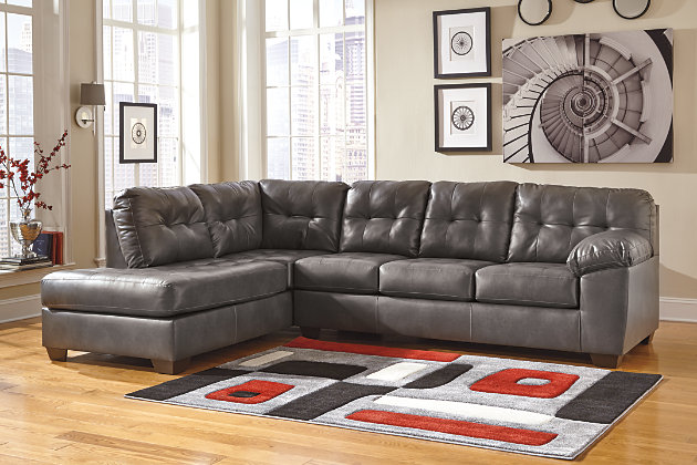 Alliston 2-Piece Sectional with Chaise, Gray, large
