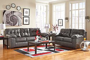 Alliston Sofa, Gray, large
