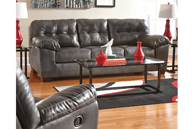 Alliston Queen Sofa Sleeper, Gray, large