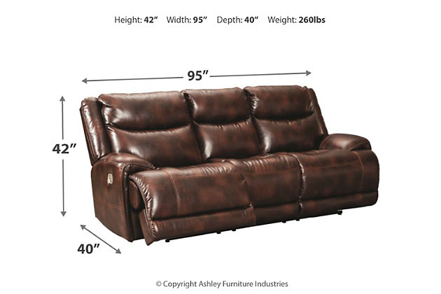 Blairstown Power Reclining Sofa, , large
