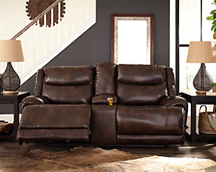 Blairstown Power Reclining Loveseat with Console, , rollover