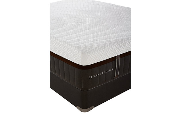 Stearns & Foster Topazolite Elite Luxury Firm Queen Mattress, White/Gray, large