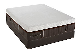 Stearns & Foster Leopard Stone Elite Luxury Plush Queen Mattress, White/Gray, large