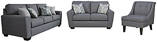 Calion Sofa, Loveseat and Chair, , large