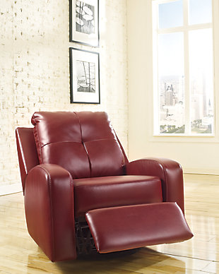 Mannix Swivel Glider Recliner, , large