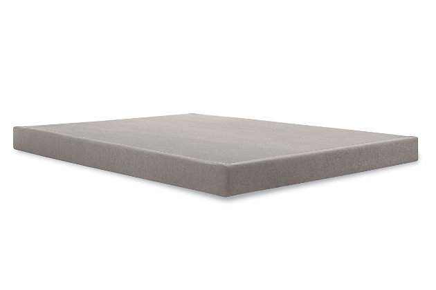 Tempur Low Profile Cal King Foundation, Gray, large