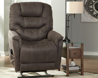 Lift Recliner Gunmetal Power Product Photo 541