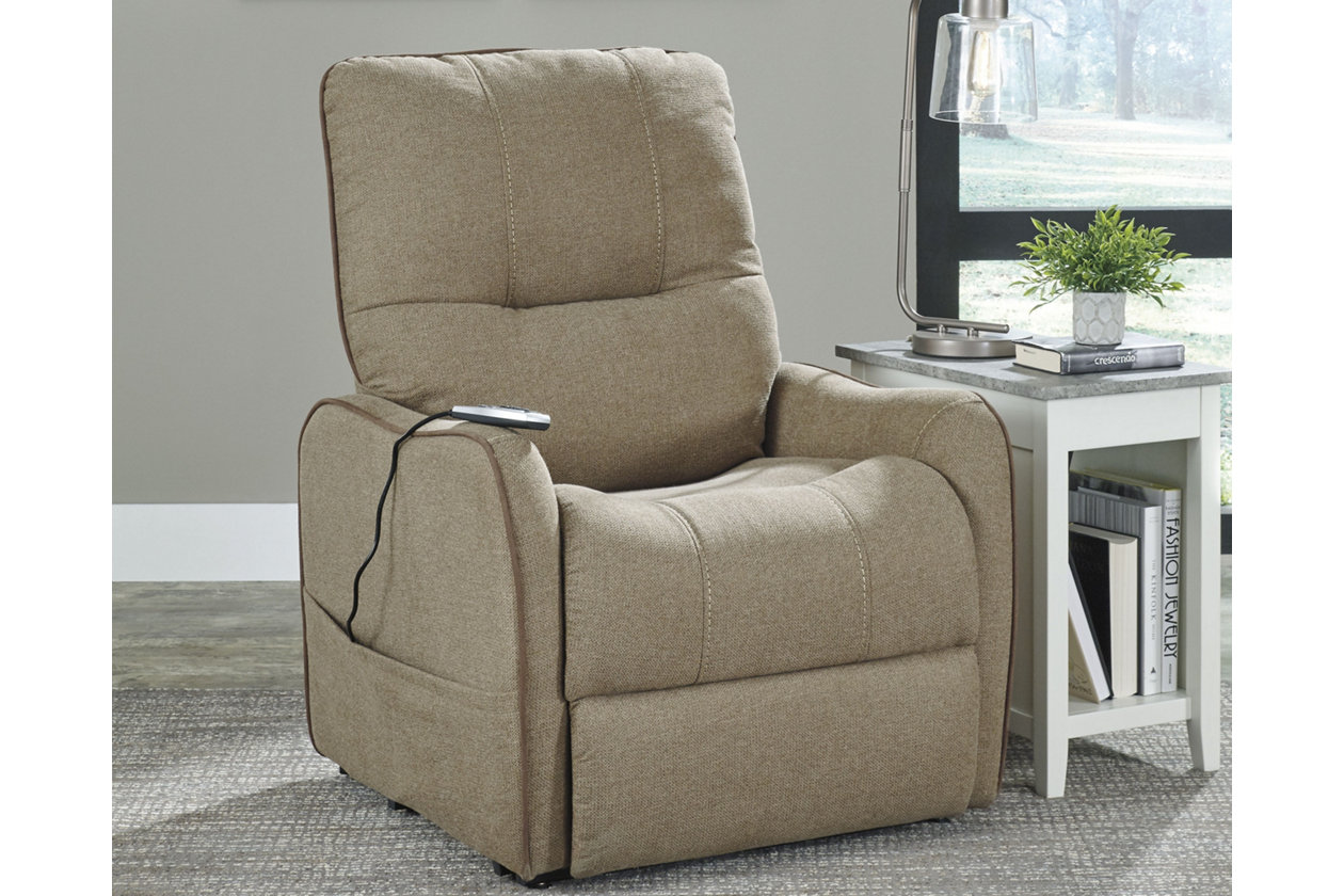 Awesome Enjoy Power Lift Recliner Ashley Furniture Homestore Bralicious Painted Fabric Chair Ideas Braliciousco