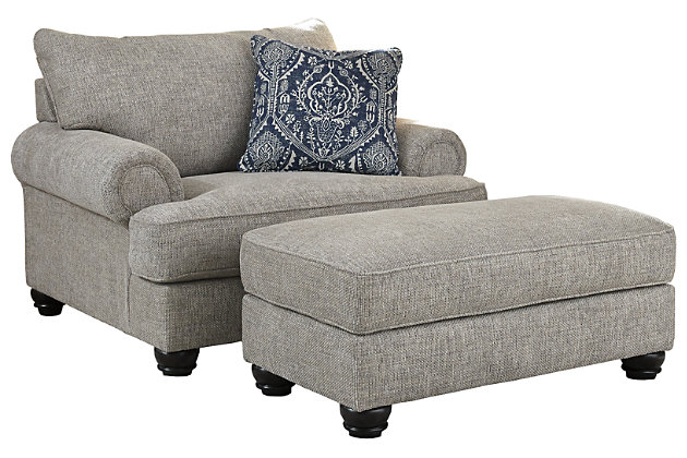 Morren Chair and Ottoman, , large