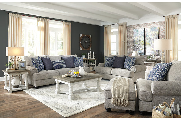 Morren Sofa, Loveseat, Chair and Ottoman, , large