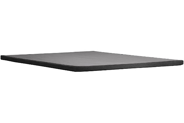 Tempur Double Ultra Low Profile Flat Foundation, Charcoal, large