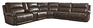 Dak 7-Piece Reclining Sectional Non-Power, , large