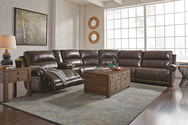 Dak 6-Piece Reclining Sectional Non-Power, , large