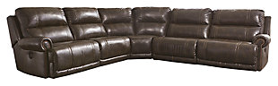 Dak 5-Piece Reclining Sectional with Power, , large