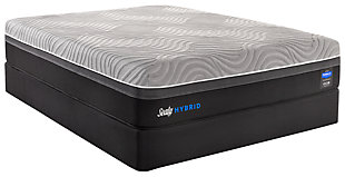 Kelburn II Full Mattress, Gray/Black, rollover