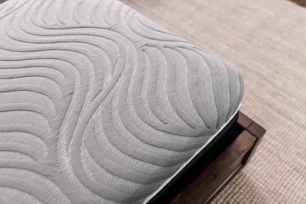 Sealy Copper II Plush Full Mattress, White, large