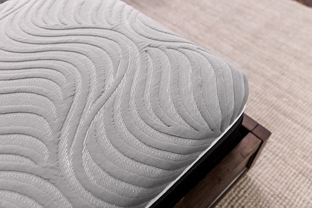 Sealy Copper II Plush King Mattress, White, large
