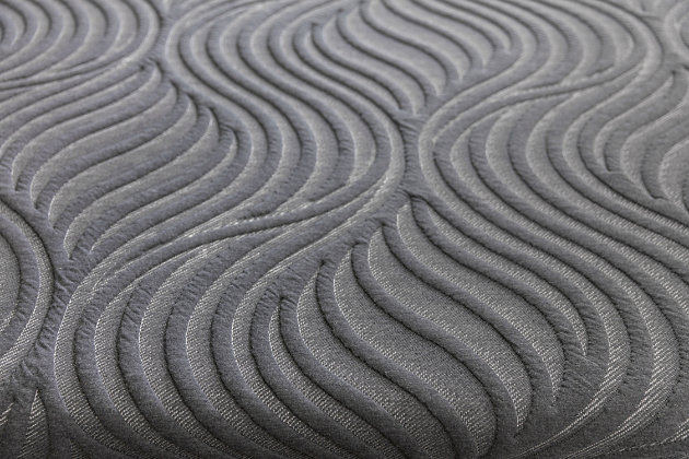 Sealy Silver Chill Firm Full Mattress, Black/Gray, large