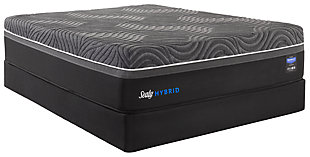 Sealy Silver Chill Firm King Mattress, White, rollover