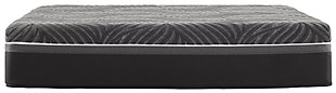 Sealy Silver Chill Plush Queen Mattress, White, large