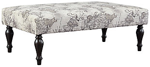 Sembler Oversized Accent Ottoman, , large