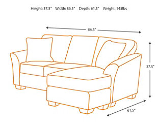 Geordie Sofa Chaise, , large