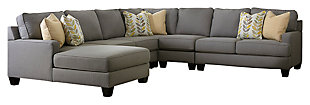 Chamberly 5-Piece Sectional with Chaise, , large