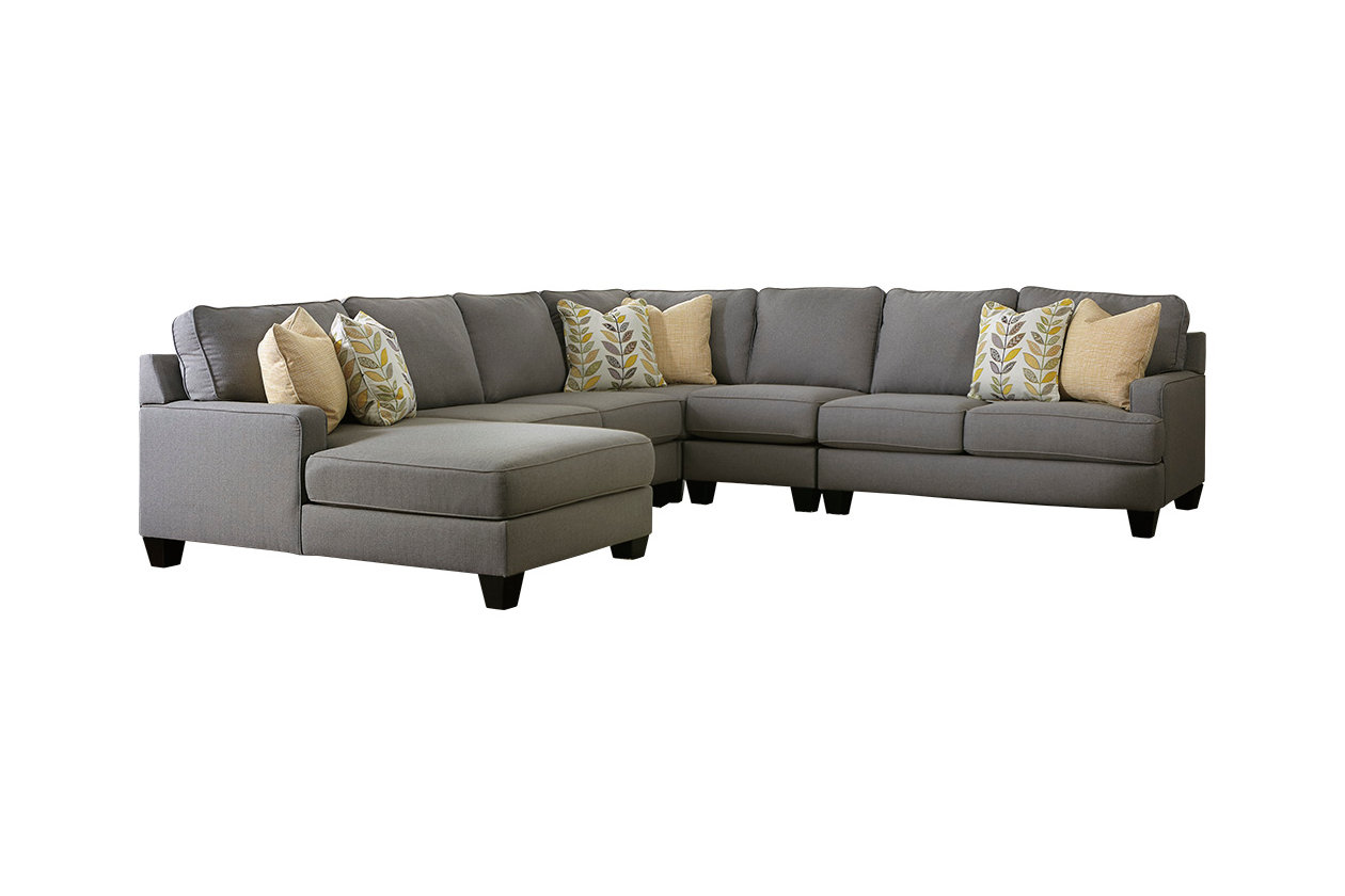 Stupendous Chamberly 5 Piece Sectional With Chaise Ashley Furniture Caraccident5 Cool Chair Designs And Ideas Caraccident5Info
