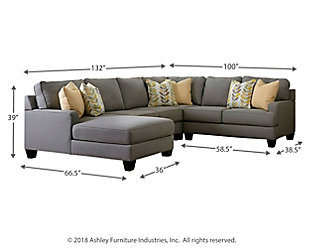 Chamberly 4-Piece Sectional, , large