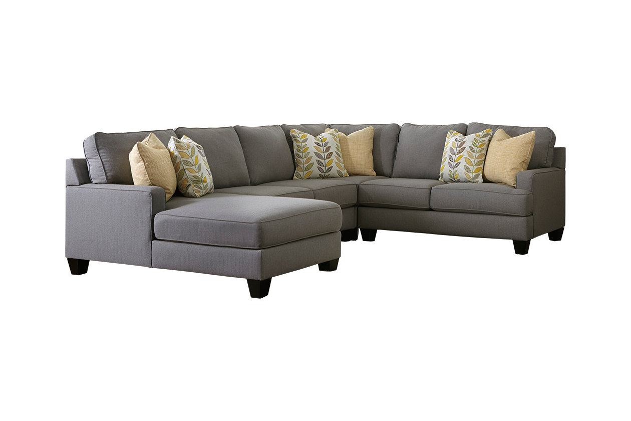Admirable Chamberly 4 Piece Sectional With Chaise Ashley Furniture Bralicious Painted Fabric Chair Ideas Braliciousco