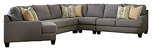 Chamberly 5-Piece Sectional with Cuddler, , large