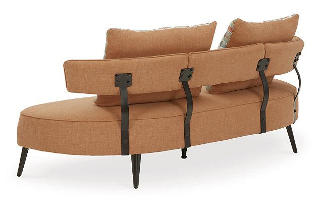 Hollyann RTA Sofa, Rust, large