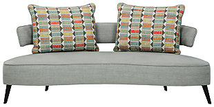 Hollyann RTA Sofa, Gray, large