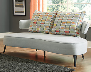 Hollyann RTA Sofa, Gray, rollover