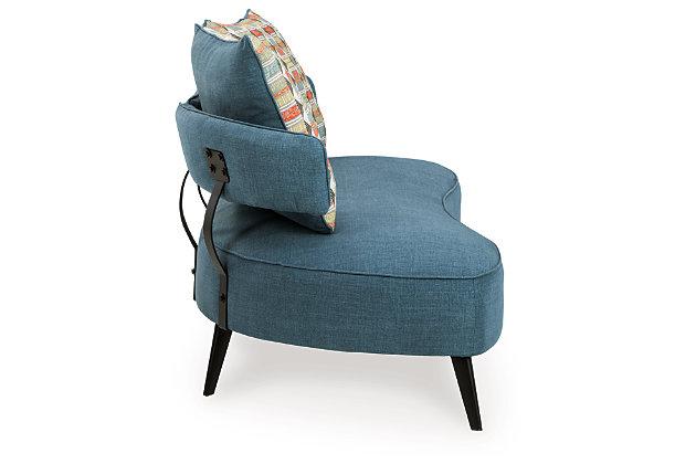 Hollyann RTA Sofa, Blue, large