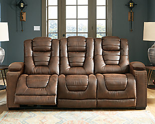 Owner's Box Power Reclining Sofa, , rollover