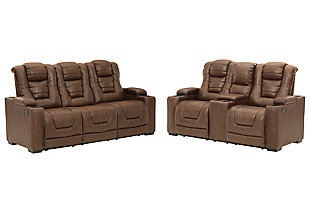 Owner's Box Sofa and Loveseat, , large
