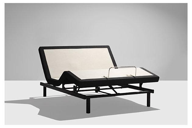 Sealy EASE® Twin Adjustable Base, Charcoal, large