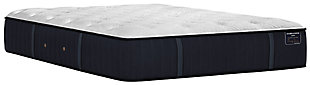 Stearns & Foster® Estate Collection Hurston Tight Top Luxury Cushion Firm California King Mattress, White/Navy, large