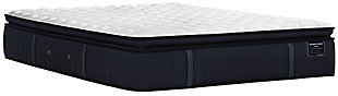 Stearns & Foster® Estate Collection Hurston Luxury Plush Euro Pillowtop Full Mattress, White/Navy, large