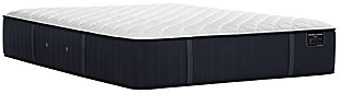 Stearns & Foster® Estate Collection Rockwell Luxury Ultra Firm Twin Long Mattress, White/Navy, large