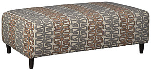 Flintshire Oversized Accent Ottoman, , large