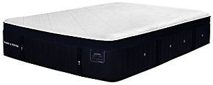 Stearns & Foster Lux Estate Hybrid Collection Pollock Luxury Plush Queen Mattress, White/Navy, large