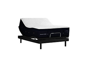Stearns & Foster Lux Estate Hybrid Collection Pollock Luxury Ultra Plush Twin XL Mattress, White/Navy, large