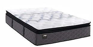 Sealy Surrey Lane Plush Pillow Top Cal King Mattress, White, large